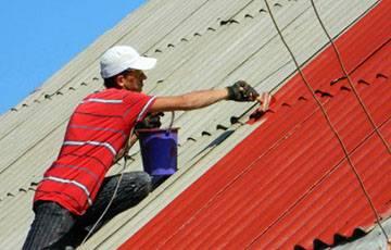 Фарбування дахів та куполів
