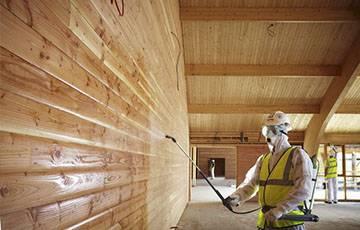 Очистка, защита и реставрация древесины